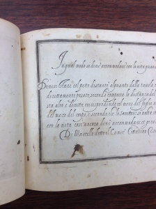 Scalzini's Il Secretario 1585 at the University of Iowa Special Collections
