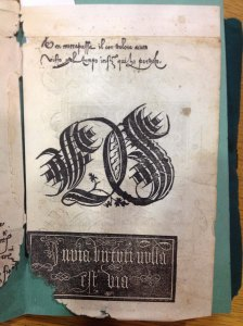 A Verini book that survives in spite of damage @ The Newberry Library