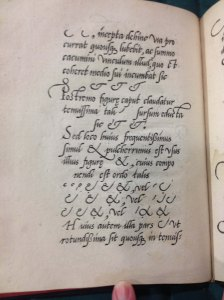 Mercator's take on the ampersand. Newberry Library